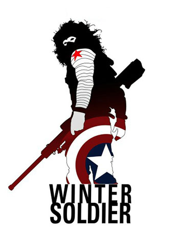 WINTER SOLDIER -  Зимний Солдат. MARVEL