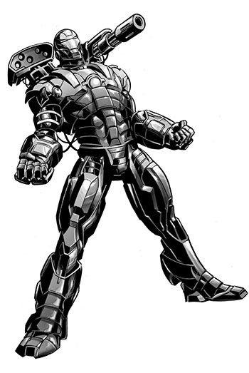War Machine - Воитель. MARVEL